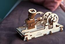 3D PUZZLE Holzpuzzle LUFTMOTOR Baukasten ORIGINAL UGEARS Geschenk DAMPFMOTOR