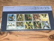 2007 GB Royal Mail Presentation Pack - Birds (pack no 401) 10*1st First Class