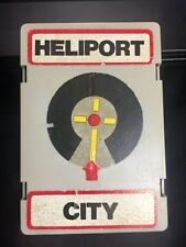 Replacement elevator rooftop heliport for Matchbox City Garage 1980~1981