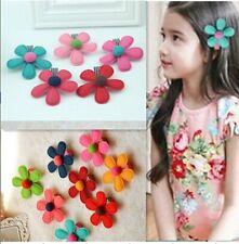 5 unidades / Lote flores Clips Para Pelo Coreano Estilo Bonito Niña Cinta