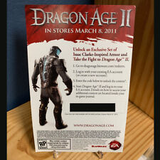Dragon Age II 2 DLC Ser Isaac Armor Dead Space Download Code Card Xbox 360 DLC