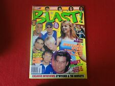 Vintage Teen Pop Rock Magazine Sept. 1999 Britney, N' Sync with Posters G5