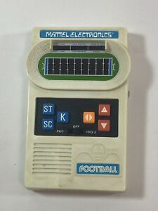 ORIGINAL RARE 1977 MATTEL FOOTBALL PORTABLE ELECTRONIC GAME TESTED!