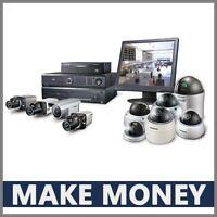 CCTV-CAMERA Website Earn $1,172.00 A SALE|FREE Domain|FREE Hosting|FREE Traffic