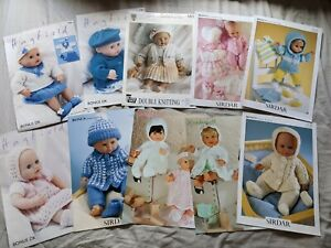 Job Lot Dolls Clothes Knitting Patterns