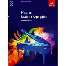 Piano Scales & Arpeggios Grade 3 ABRSM From 2009 Book Exercises Exam Prep S117