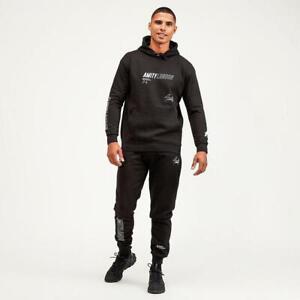 Mens Amity London Castell Black Fleece Suit (ALA1) RRP £59.99