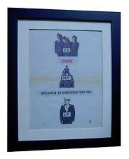 INXS+Welcome To Wherever+POSTER+AD+RARE ORIGINAL 1992+FRAMED+EXPRESS GLOBAL SHIP