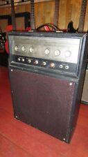 Vintage Original Circa 1963 Silvertone 1483 Bass / Guitar Amplifier Black Jensen