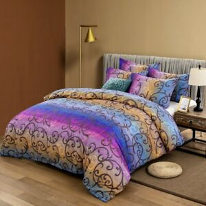Mandala Soft Doona Duvet Quilt Cover Set Double/Queen/King Size Bed Pillow Case