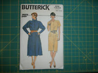 Butterick 6744 Size 12 14 16 Misses' Dress