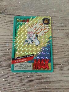Carte dragon ball z prism max 526 Fr