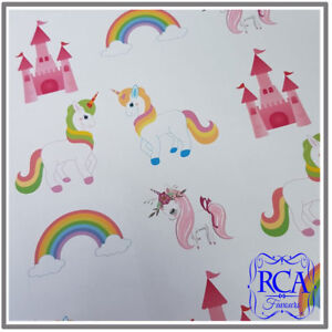 15 x Square Matt Stickers Variety Pack Unicorns Designs (50mm x 50mm)