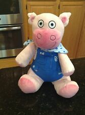 """Avon Tiny Tillia Learn To Dress Dilly Plush Pig cow Doll Soft baby Toy 15"""""""