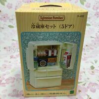 Sylvanian Families Calico Critters KA-422 5 DOOR REFRIGERATOR Epoch 88004 JAPAN