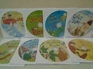 Short Story CDs for Children x 8 (Audio CDs) 10 minutes per disc, no box