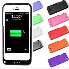 New Rechargeable Backup Charging Case Cover Power Bank For iPhone5 5S Best Gift