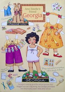 Mary Engelbreit Mag. Paper Doll, GEORGIA, Oct./Nov. 2000, Uncut