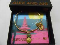 Alex and Ani Pineapple Bangle Bracelet, Rafaelian Gold NWTBC