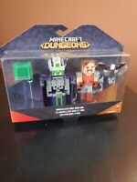 Minecraft DUNGEONS NAMELESS ONE AND HAL Action Figures - NEW