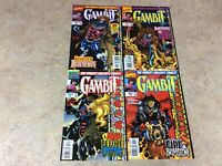 GAMBIT #1,2,3,4 OF 4 LOT OF 4 COMIC  NM 1997 MARVEL