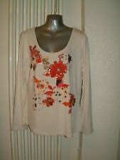 LADIES TOP BY TOGETHER, SIZE 16  EMBELLISHED WITH SEQUINS AND BEADS