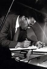 Thelonious Monk Poster, Smoking, Composing at the Piano, Jazz