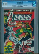 Avengers # 116 CGC 9.8 OW/White Pages Highest Graded Copy Defenders X-Over