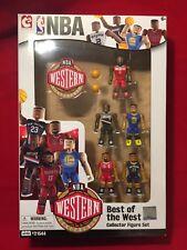 Bridge Direct NBA Figure 5 Best of West Pack COLLECTOR SET Curry Harden Jordan