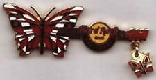 Hard Rock Cafe BALTIMORE 2007 BUTTERFLY GUITAR Series PIN with Dangle HRC #39298