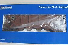 Industrial Rail IDM4102 Santa Fe 4 Bay Covered Hopper L2855