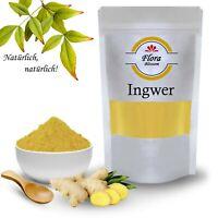 Ingwer Pulver Ingwer Wurzel gemahlen Top Qualität für Ingwertee Exquisit Line