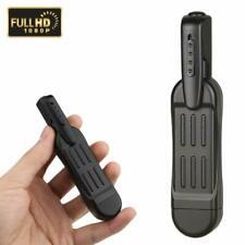 Mini Spy Camera Pen - HD 1080P Clip On Body Camera - Small Hidden Camera Video R
