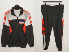 Hommes adidas Survêtement Vintage 90's Vêtements de Sport Zip Avant XL XNA717