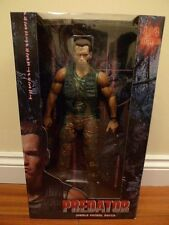 "Neca 1/4 quarter Scale 18"" Jungle Patrol Dutch Predator Arnie Action Figure BNIB"