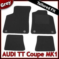 Audi TT Coupe Mk1 1998-2006 Tailored Fitted Carpet Car Floor Mats GREY