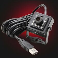 1080P HD USB Security Camera 2Megapixel H.264 6mm Lens 10 IR LEDs Night Vision