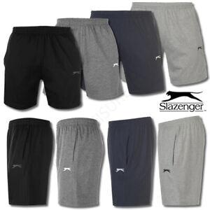 Mens Shorts Slazenger Fleece Sports Running Tennis Football M L XL Medium Large