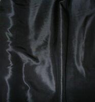 Pure Silk ponge 5- black - free postage- price per metre