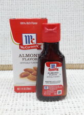 29 ml (1 fl oz.) 1 Bottle McCormick  Almond Extract Artificially Flavored