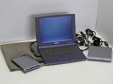 Sony VAIO PCG-N505SN Ultra-portable, Pentium II 400MHz, ALL ACCESSORIES, WORKING
