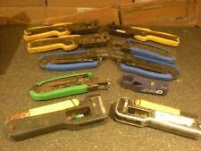 (10)  Coaxial Cable Crimper Compression Tools & MORE Lot #13