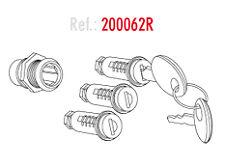 SHAD Kit di 3 cilindri serratura per bauletto laterali o borsa posteriore