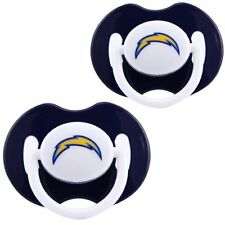 San Diego Chargers Orthodontic Baby Pacifiers [NEW] NFL Infant Newborn CDG