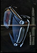 1955 Volvo 1800S 1800 S black car color photo vintage print ad