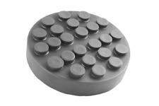 2 Post Rubber Lift Pad Bradbury Hofmann Ravaglioli Souriau Werther  123mm x 25mm