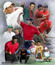 Tiger Woods THE CHOSEN ONE Historic Artistic PGA Golf POSTER Print