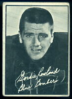 1961 TOPPS CFL FOOTBALL #130 GORDIE ROWLAND VG-EX Winnipeg Blue Bombers Card