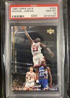 Lot(3), 1 Michael Jordan Upper Deck PSA 10 & 2 Upper Deck Lebron Rookies 2003
