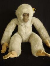 Vintage 1960's Gibbon, Baby Hango Felt Face & Paws Glass eyes toy 0040 28